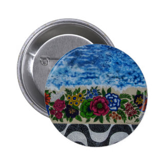 Wynwood Wall Art 2 Inch Round Button