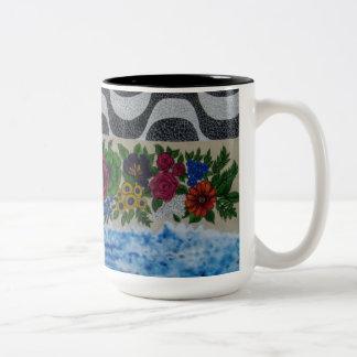 Wynwood Wall Art Two-Tone Coffee Mug