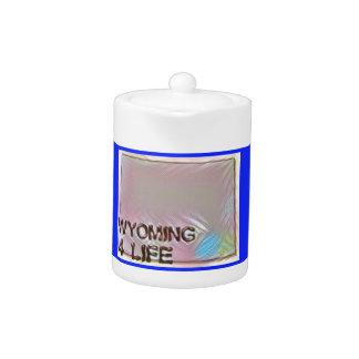 """Wyoming 4 Life"" State Map Pride Design"