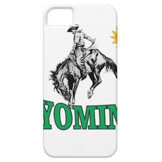 Wyoming cowboy iPhone 5 case