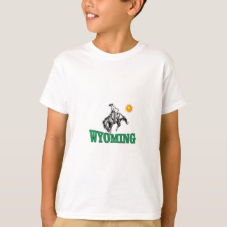 Wyoming cowboy T-Shirt