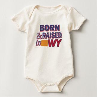 Wyoming design baby bodysuit