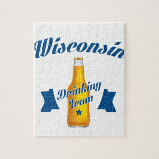 Wyoming Drinking team Jigsaw Puzzle