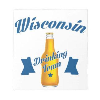 Wyoming Drinking team Notepad
