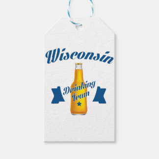 Wyoming Drinking team Pack Of Gift Tags