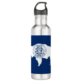 Wyoming Flag 710 Ml Water Bottle