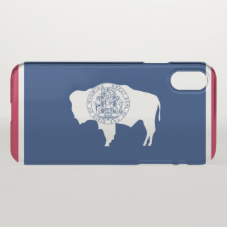 Wyoming flag iPhone x case