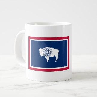 Wyoming Flag Large Coffee Mug