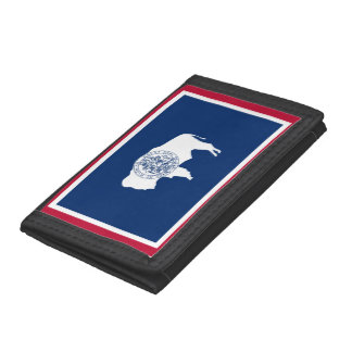 Wyoming Flag Trifold Wallet