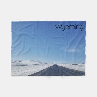 Wyoming Fleece Blanket