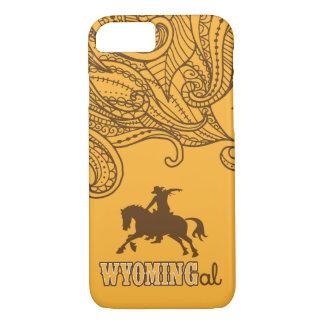 Wyoming Gal, Boho Cowboy iPhone 7 Case