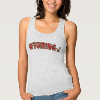 Wyoming Gal, Country Red Tank Top