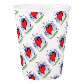wyoming head heart, tony fernandes paper cup