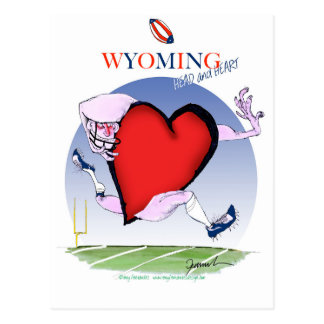 wyoming head heart, tony fernandes postcard