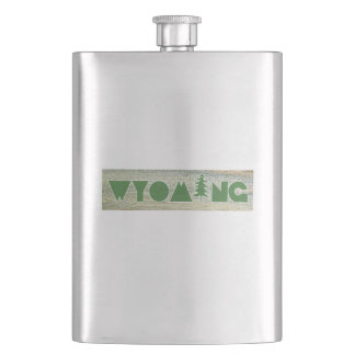 Wyoming Hip Flask