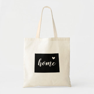 Wyoming Home State Tote Bag