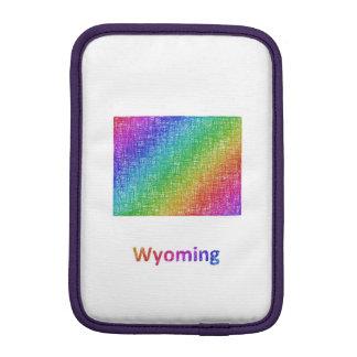Wyoming iPad Mini Sleeve