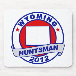 Wyoming Jon Huntsman Mouse Pad