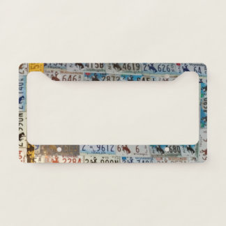 Wyoming Licences Plates License Plate Frame
