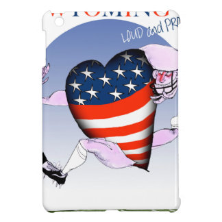 Wyoming loud and proud, tony fernandes case for the iPad mini