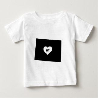 Wyoming Love Baby T-Shirt