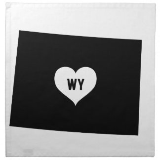 Wyoming Love Napkin