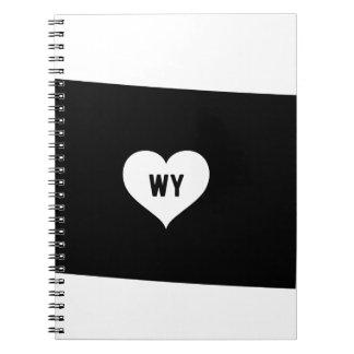 Wyoming Love Notebook