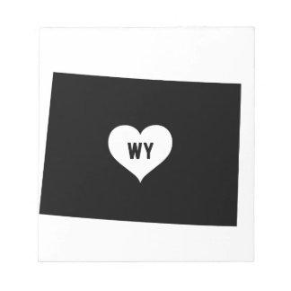 Wyoming Love Notepad