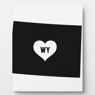Wyoming Love Plaque
