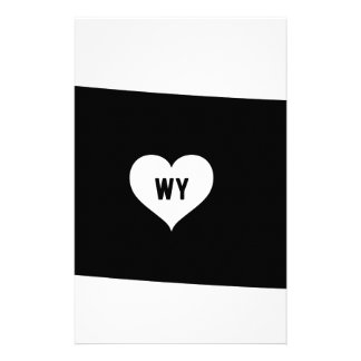 Wyoming Love Stationery