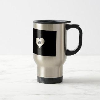 Wyoming Love Travel Mug