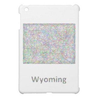Wyoming map iPad mini cover