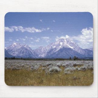 Wyoming Mountains Mousepad