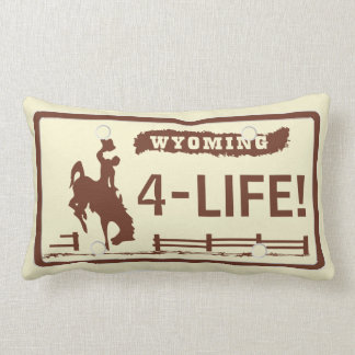 Wyoming Plates Lumbar Pillow