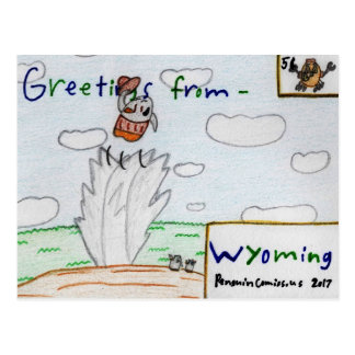 """Wyoming"" Postcard"