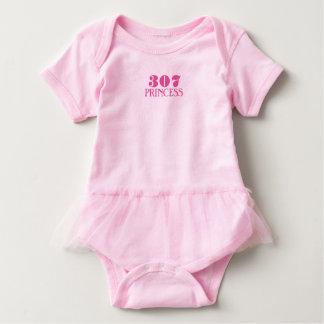 Wyoming Princess Baby Bodysuit