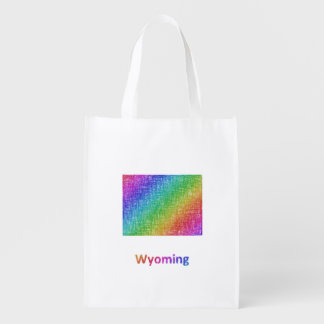 Wyoming Reusable Grocery Bag