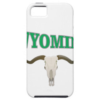 Wyoming skull iPhone 5 case