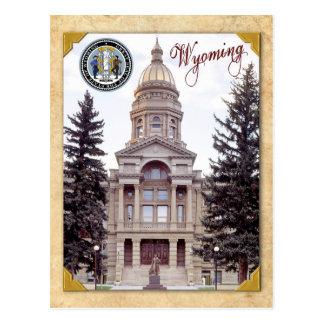 Wyoming State Capitol, Cheyenne, WY Postcard