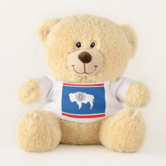 Wyoming State Flag Teddy Bear