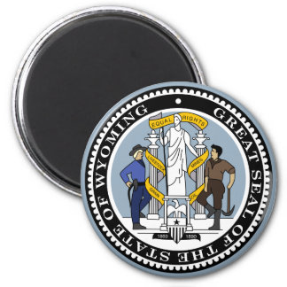 Wyoming State Seal Magnet