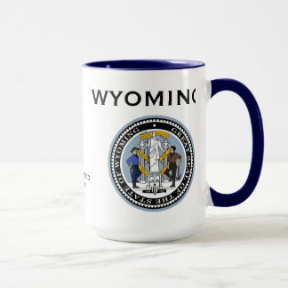 Wyoming* State Seal Mug