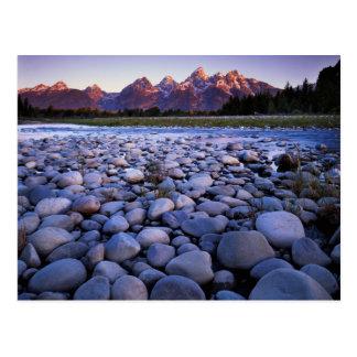 Wyoming, Teton National Park, Snake River Postcard