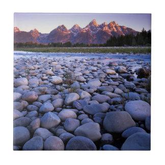 Wyoming, Teton National Park, Snake River Tile
