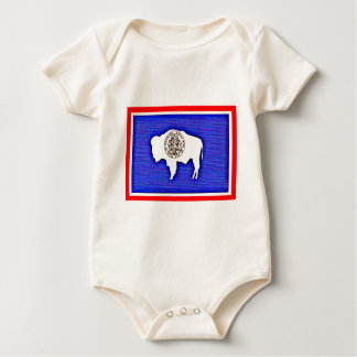 Wyoming The Equality State Baby Bodysuit