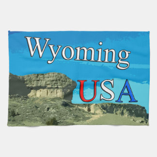 "Wyoming USA Kitchen Towel 16"" x 24"""