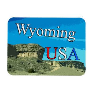 Wyoming USA Magnet