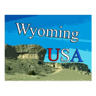 Wyoming USA Postcard