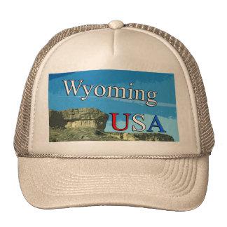 Wyoming USA Trucker Hat