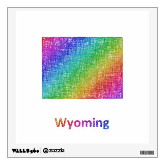 Wyoming Wall Sticker